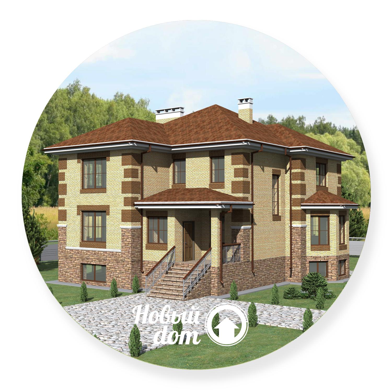 Трехэтажный дом