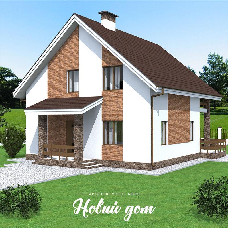 Дом с мансародой