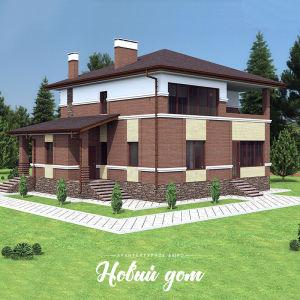 Двухэтажный дом в Красноярском районе