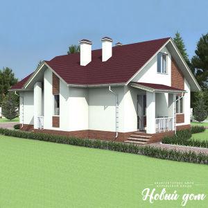 Одноэтажный дом 100 кв.м