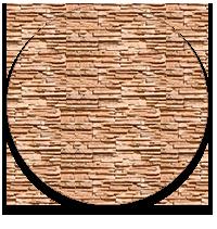 Отделка фасада - декоративный камень
