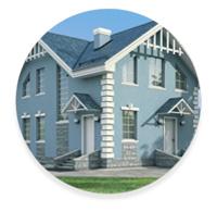 Классический стиль частных домов