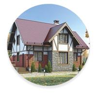Фахверковый стиль загородного дома