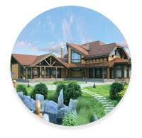 Стиль Шале загородного дома