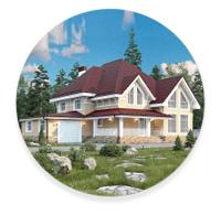Европейский стиль частных домов