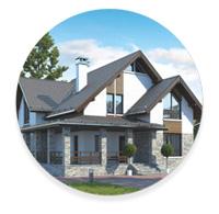 Европейский стиль загородного дома