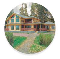 Канадский стиль загородного дома