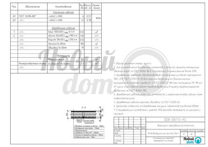 Спецификация элементов перекрытий