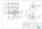 Кладочный план цокольного этажа загородного дома