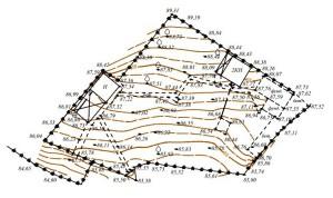 Топография и геодезия земельного участка
