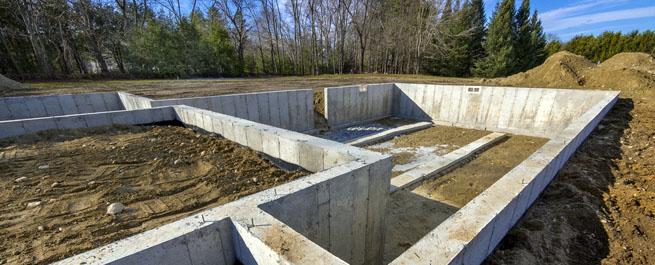 Перерасчет конструкций фундамент