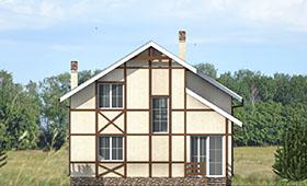 Четвертый фасад уютного загородного дома