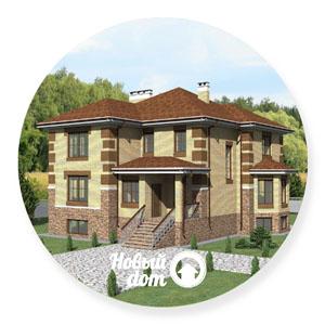 Проекты трехэтажных домов с цокольным этажом