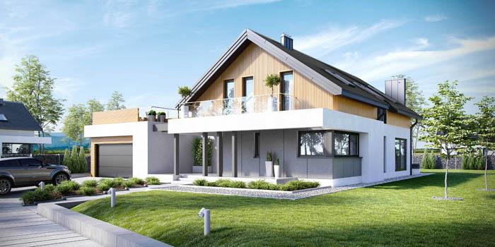 Пример современного дома