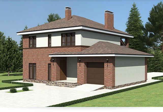 Строительство домов в Рязани №1 под ключ, проекты и цены