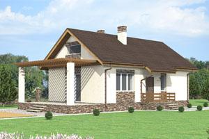 Проектдачного дома