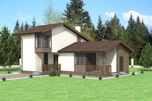 Проект бани - гостевого дома