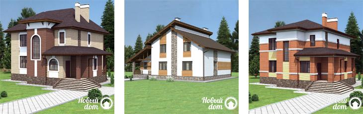 Заказать индивидуальный проект двухэтажного дома в Самаре