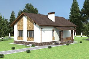 Частный дом с двумя спальными