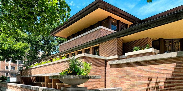 индивидуальный жилой дом в стиле райта