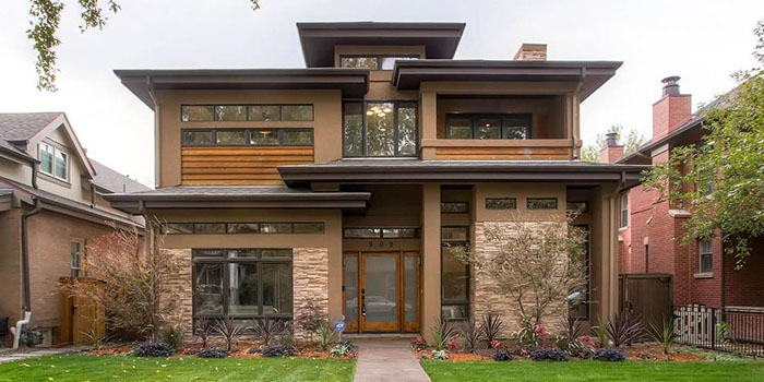 пример архитектуры Райта