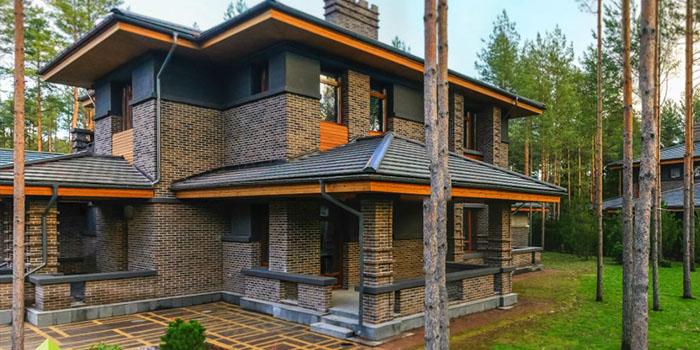 стиль Райта в частном строительстве