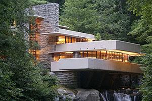 Особенности проектов индивидуальных жилых домов дв стиле Райта