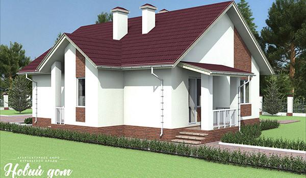 041. Проект небольшого дома до 100 квадратных метров