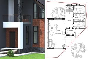 Двухэтажный дом из газобетона в Самаре. Часть 2. Разработка планировок